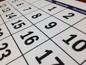 Termine September Infostand